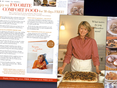 Martha Stewart Living Direct Mail